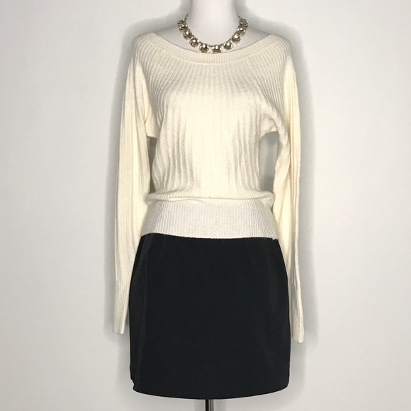 Express Sweaters - NWT Express White Crop Wool Blend Sweater A190853